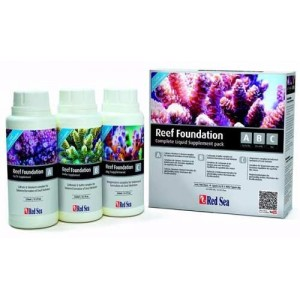Reef Foundation Pack 3x250ml líquidos(A+B+C)