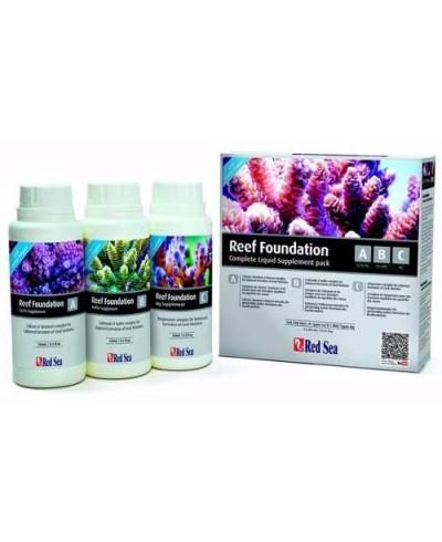 Reef Foundation Pack 3x250ml líquidos(A+B+C)